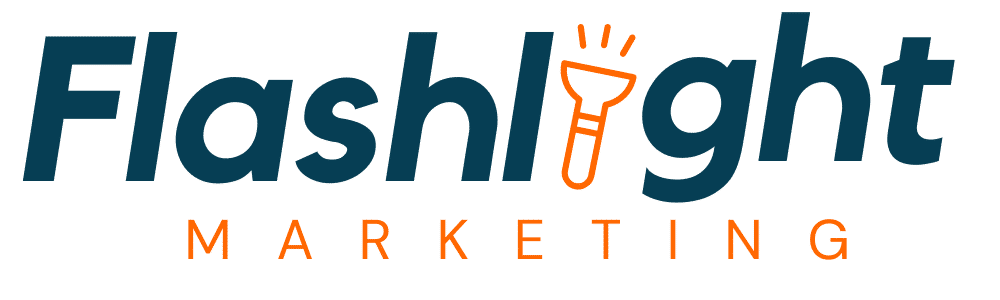 Flashlight Marketing logo transparent